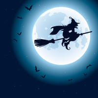 21479692-witch-flying-over-the-moon